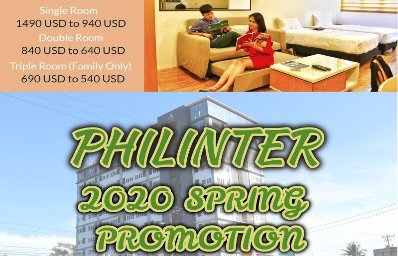 [PHILINTER] SPRING PROMOTION 2020