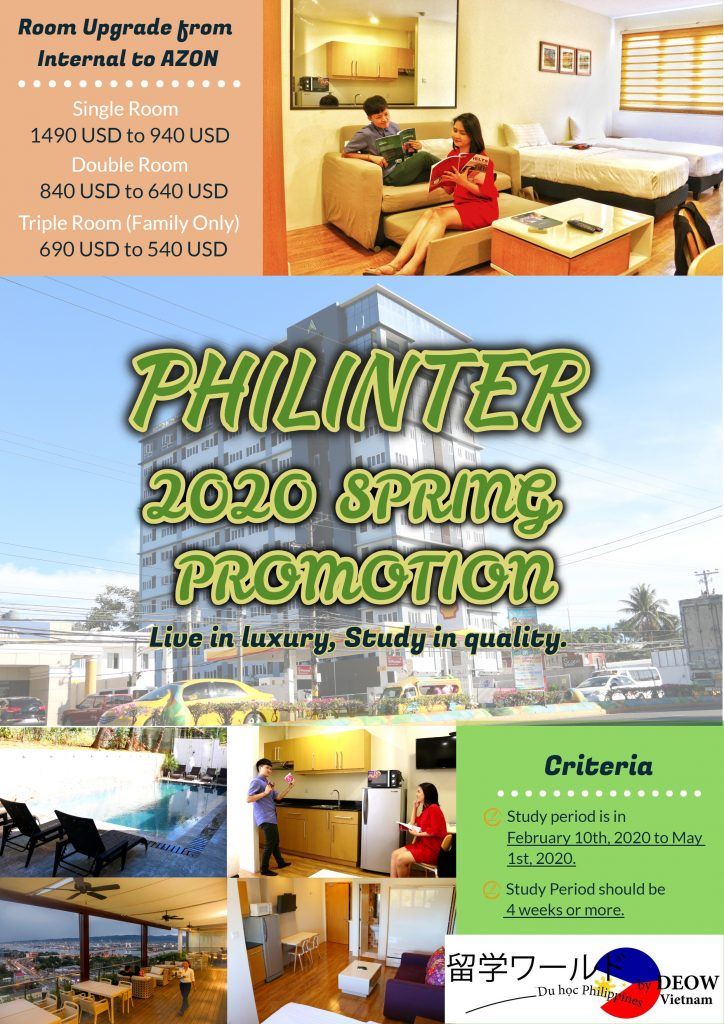 Philinter_External Dorm. Promotion